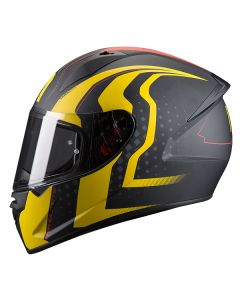 ΚΡΑΝΟΣ STINGER WARHEAD MATT BLACK / YELLOW | MT