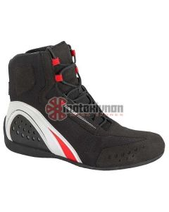 ΜΠΟΤΑΚΙΑ ΑΔΙΑΒΡΟΧΑ MOTORSHOE JB D-WP BLACK/RED/WHITE 1775202 | DAINESE