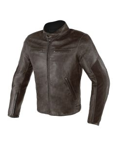 ΜΠΟΥΦΑΝ STRIPES D1 LEATHER DARK BROWN 1533751 | DAINESE