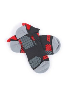 ΚΑΛΤΣΕΣ D-CORE FOOTIE SOCK BLACK/RED 1915956 | DAINESE