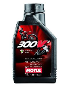 ΛΙΠΑΤΙΚΟ ΚΙΝΗΤΗΡΑ ROAD/OFF ROAD 300V² 4T FACTORY LINE 10W50 1L| MOTUL