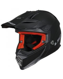 ΚΡΑΝΟΣ FAST MX437 SOLID MATT BLACK | LS2