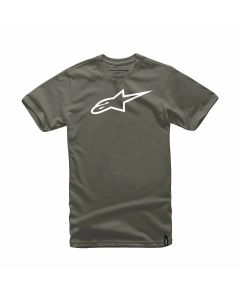 T-SHIRT AGELESS CLASSIC TEE MILITARY/WHITE 1032-72030-6920| ALPINESTARS