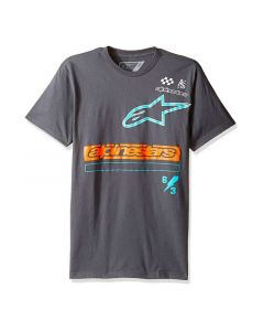 T-SHIRT AXIOM TEE CHARCOAL 1017-72019-18| ALPINESTARS