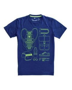 T-SHIRT CITY PACK BLUE| DAINESE