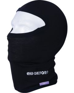ΜΠΑΛΑΚΛΑΒΑ CA025 DELUXE BALACLAVA SILK BLACK| OXFORD