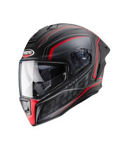ΚΡΑΝΟΣ DRIFT EVO INTEGRA BLACK MATT/ ATHRACITE/ FLUO RED | CABERG