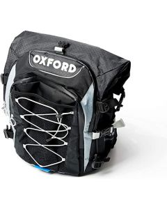 ΤΣΑΝΤΑ ΠΛΑΤΗΣ RUCKSACK XS35 BLACK BACKPACK OL805| OXFORD