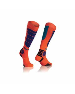 ΚΑΛΤΣΕΣ MX IMPACT SOCKS ORANGE/BLUE 21633.204 | ACERBIS