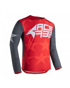 ΜΠΛΟΥΖΑ X-FLEX STARWAY RED/GREY 23903.347| ACERBIS