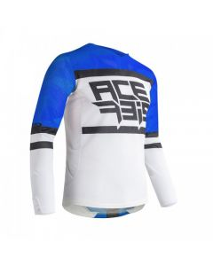 ΜΠΛΟΥΖΑ MX HELIOS VENTED BLUE/WHITE 23905.245| ACERBIS