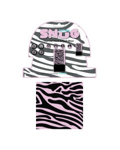 ΛΑΙΜΟΥΔΙΕΡΑ SNUG PINK ZEBRA NW611| OXFORD
