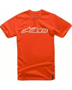 T-SHIRT GLAZE CLASSIC TEE ORANGE/WHITE 1032-72032-4020| ALPINESTARS