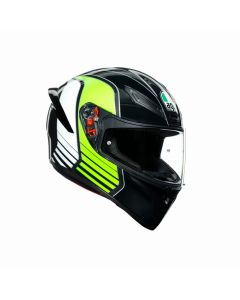 ΚΡΑΝΟΣ K1 POWER GUNMETAL/WHITE/GREEN | AGV