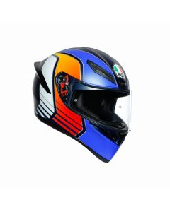 ΚΡΑΝΟΣ K1 POWER MATT DARK BLUE/ORANGE/WHITE | AGV