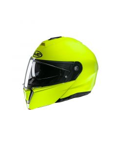 ΚΡΑΝΟΣ FLIP-UP I-90 FLUORESCENT GREEN| HJC