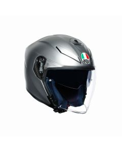 ΚΡΑΝΟΣ K5 JET SOLID MATT GREY | AGV