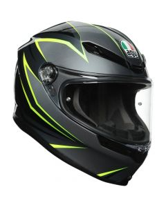 ΚΡΑΝΟΣ K6 MULTI FLASH GREY/BLACK/LIME MPLK| AGV