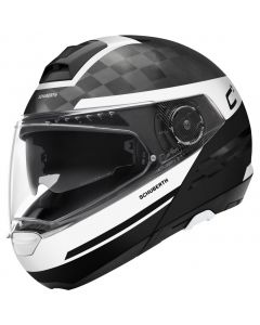 ΚΡΑΝΟΣ FLIP-UP C4 PRO CARBON TEMPEST WHITE| SCHUBERTH