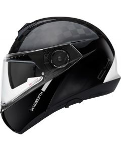 ΚΡΑΝΟΣ FLIP-UP C4 PRO CARBON FUSION WHITE| SCHUBERTH