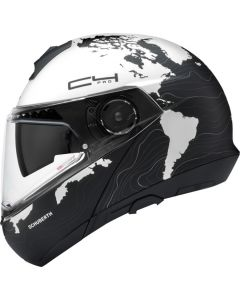 ΚΡΑΝΟΣ FLIP-UP C4 PRO MAGNITUDO WHITE| SCHUBERTH