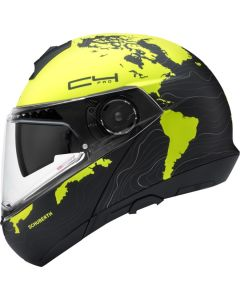 ΚΡΑΝΟΣ FLIP-UP C4 PRO MAGNITUDO YELLOW| SCHUBERTH