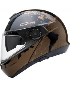 ΚΡΑΝΟΣ FLIP-UP C4 PRO MAGNITUDO BROWN| SCHUBERTH