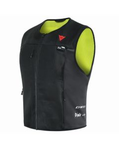 ΓΙΛΕΚΟ ΜΕ ΑΕΡΟΣΑΚΟ SMART JACKET D-AIR BLACK/FLUO-YELLOW 201D20024 | DAINESE