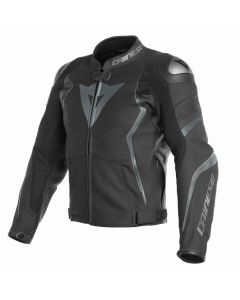 ΔΕΡΜΑΤΙΝΟ ΜΠΟΥΦΑΝ AVRO 4  LEATHER JACKET BLACK-MATT/ANTHRACITE 1533810 | DAINESE