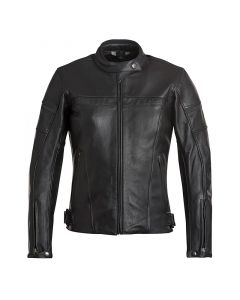 ΔΕΡΜΑΤΙΝΟ ΜΠΟΥΦΑΝ STRADE JTK LADIES JACKET BLACK| ELEVEIT
