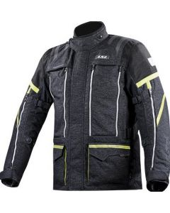 ΜΠΟΥΦΑΝ NEVADA JACKET BLACK / YELLOW| LS2