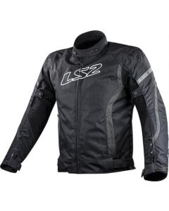 ΜΠΟΥΦΑΝ GATE JACKET BLACK / ANTHRACITE| LS2
