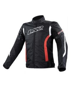 ΜΠΟΥΦΑΝ GATE JACKET BLACK / RED| LS2