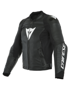 ΔΕΡΜΑΤΙΝΟ ΜΠΟΥΦΑΝ SPORT PRO LEATHER JACKET BLACK/WHITE 1533867| DAINESE