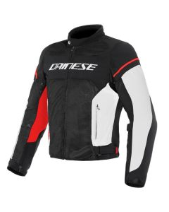 ΚΑΛΟΚΑΙΡΙΝΟ ΜΠΟΥΦΑΝ AIR FRAME D1 TEX JACKET BLACK/ WHITE/ RED 1735196| DAINESE