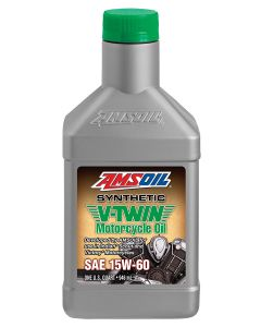 ΛΑΔΙ MSVQT SYNTHETIC SAE 15W-60 V-TWIN MOTORCYCLE OIL 946ML| AMSOIL