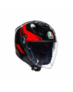 ΚΡΑΝΟΣ K5 JET E2205 MULTI - ROKET BLACK/GREY/RED| AGV