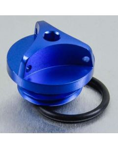 ΤΑΠΑ ΛΑΔΙΟΥ ALUMINIUM OIL FILLER CAP OFCY10B BLUE| PRO BOLT