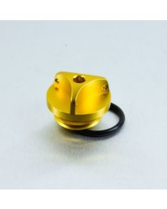 ΤΑΠΑ ΛΑΔΙΟΥ ALUMINIUM OIL FILLER CAP OFCY10G GOLD| PRO BOLT