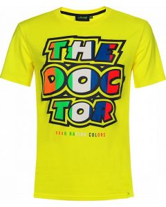 T-SHIRT THE DOCTOR YELLOW VRMTS350101| VR46