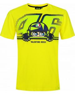 T-SHIRT CUPOLINO YELLOW VRMTS350601| VR46