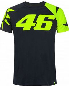 T-SHIRT SUN AND MOON HELMET REPLICA VRMTS350902| VR46