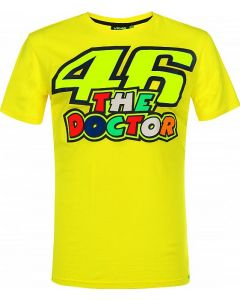 T-SHIRT THE DOCTOR 46 YELLOW VRMTS351501| VR46