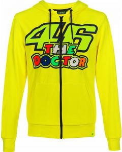 FLEECE THE DOCTOR 46 YELLOW VRMFL351601| VR46