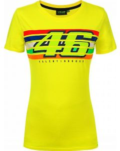 WOMAN FLEECE THE DOCTOR 46 YELLOW VRWTS352501| VR46