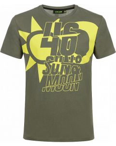 T-SHIRT 46 SUN AND MOON VLMTS358008| VR46