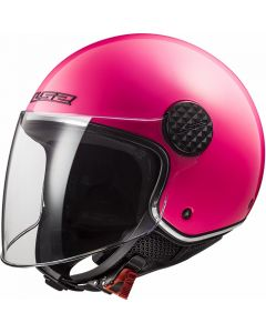 JET ΚΡΑΝΟΣ SPHERE LUX OF558 FLUO PINK| LS2