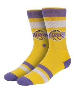 ΚΑΛΤΣΕΣ LAKERS YELLOW/PURPLE M313ALAK| STANCE