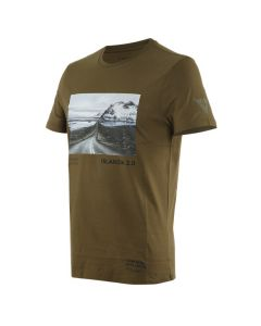 T-SHIRT ADVENTURE DREAM T-SHIRT MILITARY-OLIVE/BLACK 1896809| DAINESE