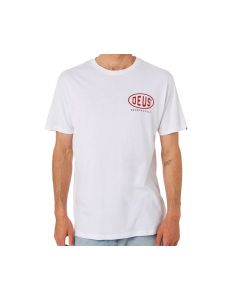 T-SHIRT BELLS TEE WHITE DMS91300B| DEUS EX MACHINA